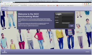 NGO Benchmarking tool