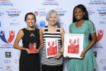 L-R NSW Volunteer Team of the Year 2016, Women in Prison Advocacy Network - Grace Dawson, Mary Boland and Jennifer Lonji
