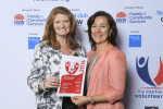 L-R Royal Rehab Volunteer Services Management Team - Delia Gray and Ayse Dalkic