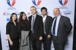 L-R Team from H&T Realty, including CEO Gordon Elloit (middle) and Martin Wren, CEO of Nova Employment (far right)