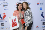 L-R Ayse Dalkic and Delia Gray from Royal Rehab Excellence in Volunteer Management Winner